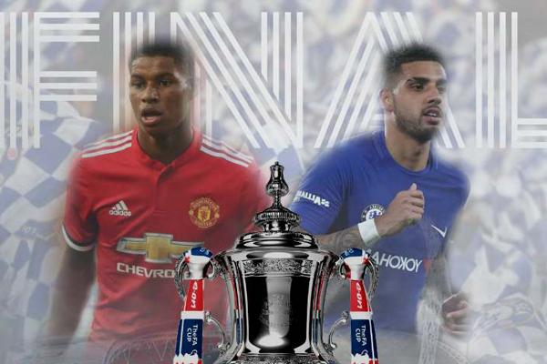Lịch phát sóng chung kết Cúp FA 2018: MU vs Chelsea
