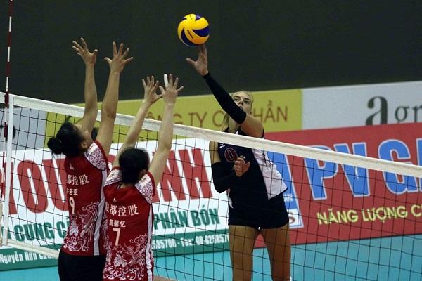 Lịch thi đấu bóng chuyền hôm nay 20/5: Giang Tô (Trung Quốc) vs BIP (Mỹ) (Chung kết Cúp VTV Bình Điền 2018)