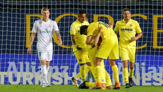 Kết quả Villarreal 2-2 Real Madrid: Cầm vàng còn để vàng rơi