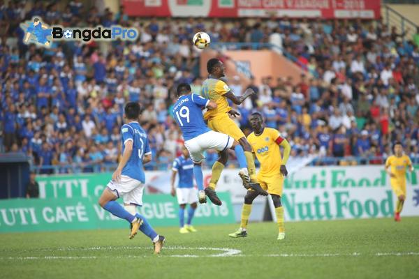 Kết quả vòng 8 V-League 2018 ngày 20/5: Quảng Nam vs SLNA (FT 1-1)