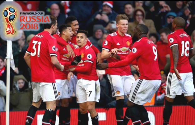 Danh sách cầu thủ Man United tham dự World Cup 2018