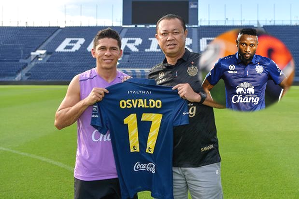 Loại bỏ Hoàng Vũ Samson, đại gia Thái Lan chiêu mộ cựu tuyển thủ Brazil