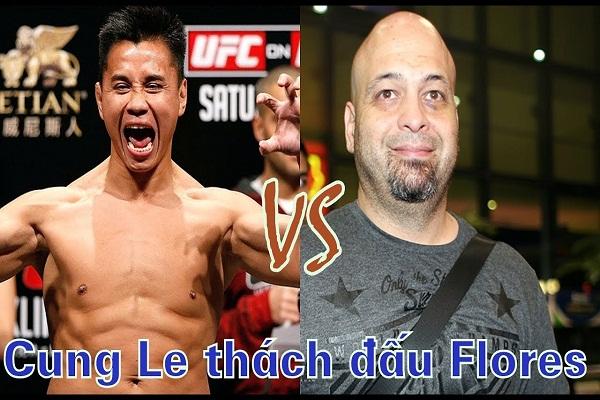 Lịch thi đấu Cung Lê vs Flores: MMA đấu Vịnh Xuân Quyền