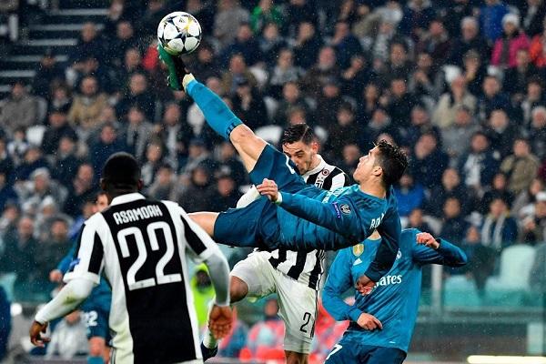 Top 10 bàn thắng đẹp nhất C1: C.Ronaldo và G.Bale thống trị