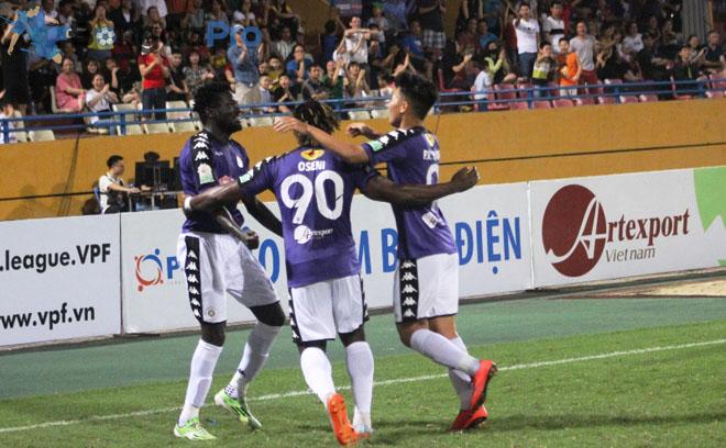 Kết quả vòng 10 V-League 2018 ngày 30/5: SLNA thất thủ trước Hà Nội FC ngay tại sân Vinh
