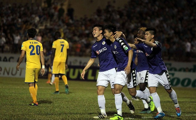 Kênh chiếu trực tiếp vòng 11 V-League 2018: Hà Nội vs Sanna Khánh Hòa