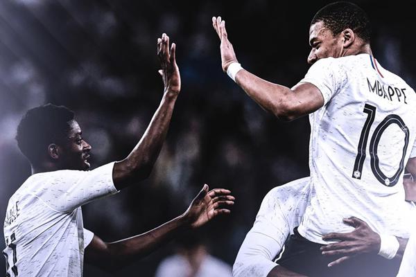 Lịch thi đấu bóng đá giao hữu hôm nay (1/6): Pháp vs Italia