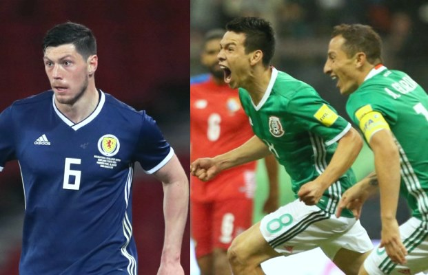 Trực tiếp kết quả Mexico vs Scotland, 7h ngày 3/6