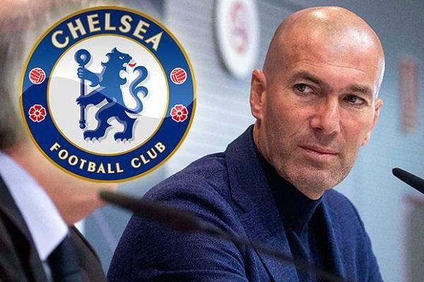 Từ chức HLV Real, Zidane mở cửa tới Chelsea