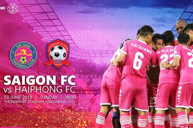 Nhận định bóng đá Sài Gòn FC vs Hải Phòng, 18h00 ngày 3/6