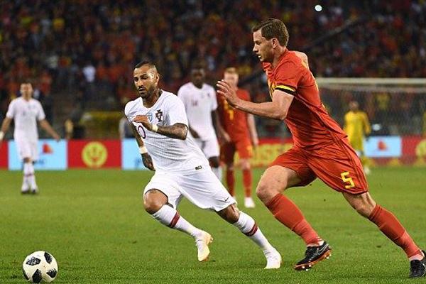 Xem lại Video bàn thắng Bỉ vs Bồ Đào Nha: Cân tài, cân sức