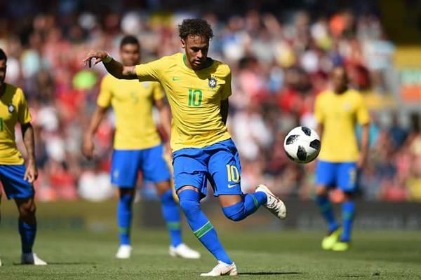 Kết quả bóng đá giao hữu hôm nay 4/6: Brazil 2-0 Croatia