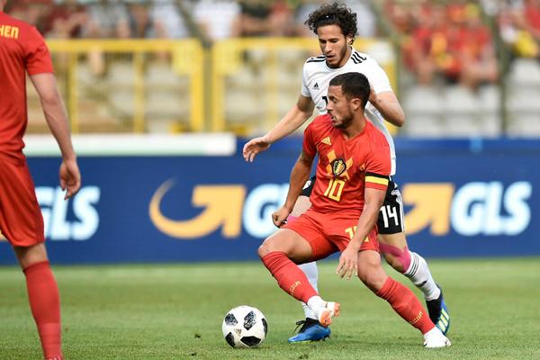Kết quả Bỉ 3-0 Ai Cập: Lukaku và Hazard tỏa sáng, Bỉ nhấn chìm Ai Cập-không-Salah