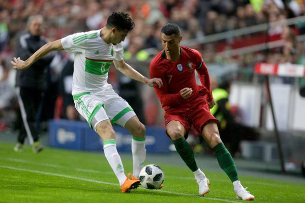 Kết quả Bồ Đào Nha 3-0 Algeria: Ronaldo kiến tạo, Bồ Đào Nha thắng dễ Algeria
