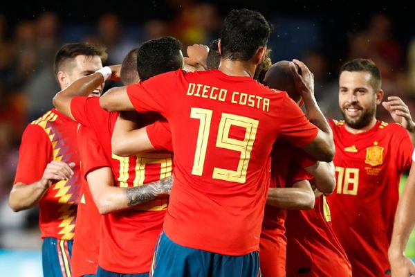 Lịch giao hữu trước World Cup 2018 hôm nay (9/6): Tunisia vs Tây Ban Nha