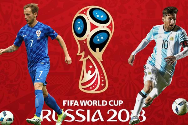 Lịch thi đấu bảng D World Cup 2018