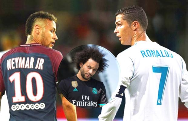 Marcelo gọi mời Neymar, đẩy Ronaldo khỏi sân Bernabeu