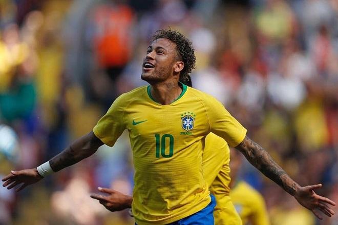 Tin bóng đá sáng nay 11/6:  Neymar khiến CĐV Brazil vui sướng trước thềm World Cup 2018