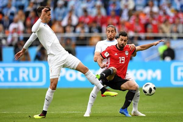 Kết quả World Cup 2018 hôm nay 15/6: Ai Cập 0-1 Uruguay