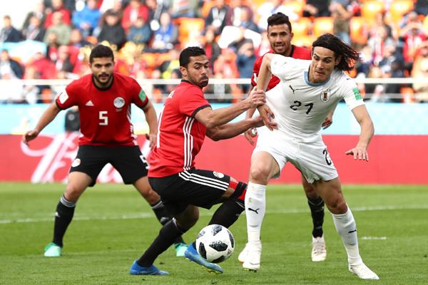 Bảng xếp hạng bảng A World Cup 2018: Uruguay cân bằng điểm số với Nga