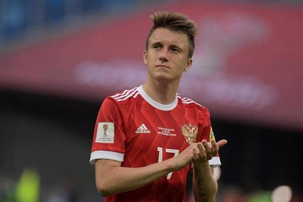 Cầu thủ tỏa sáng khai mạc World Cup - Aleksandr Golovin là ai?