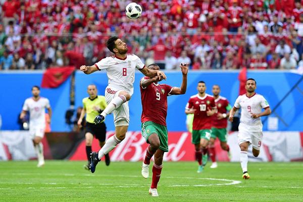 Kết quả Maroc 0-1 Iran: Iran bất ngờ dẫn đầu bảng B World Cup 2018