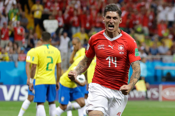 Bảng xếp hạng bảng E World Cup 2018: Brazil xếp sau Serbia