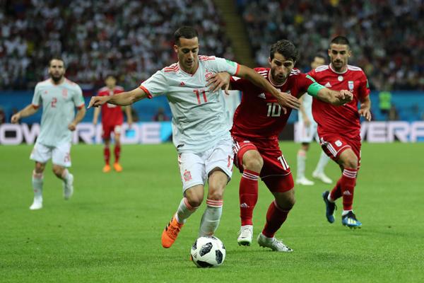 Kết quả Iran 1-0 Tây Ban Nha: Diego Costa được 'biếu' bàn thắng, TBN nhọc nhằn giành 3 điểm