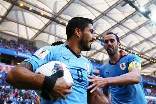 Kết quả Uruguay 1-0 Saudi Arabia: Suarez lập công, Uruguay nối gót Nga vượt qua vòng bảng World Cup 2018