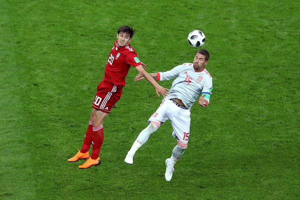 Kết quả bảng B World Cup 2018 lượt 2: Tây Ban Nha và Bồ Đào Nha 'rủ nhau' thắng tối thiểu