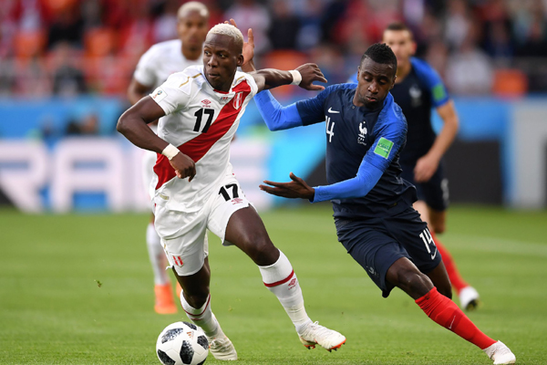 Bảng xếp hạng bảng C World Cup 2018: Pháp độc chiếm ngôi đầu