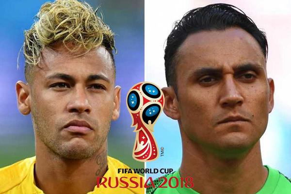 Lịch World Cup 2018 hôm nay (22/6): Brazil vs Costa Rica