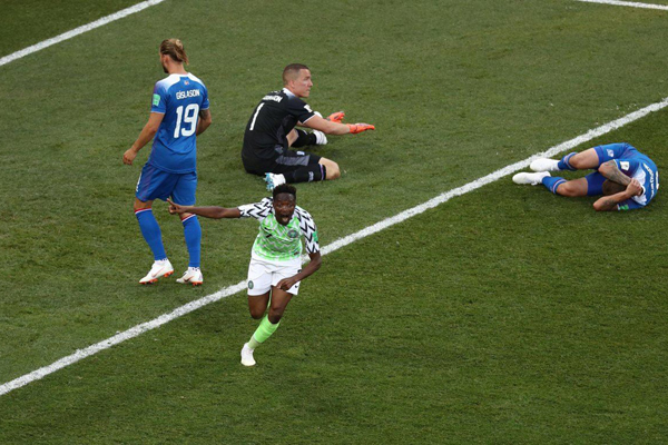 Kết quả bảng D World Cup 2018 lượt 2: Argentina và Iceland cùng thất bại gây sốc