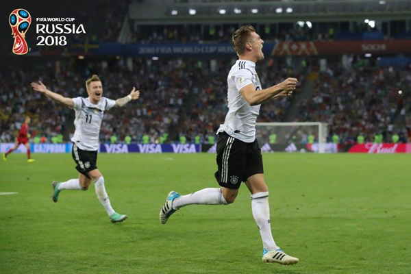 Kết quả bóng đá hôm nay (24/6): Đức 2-1 Thụy Điển