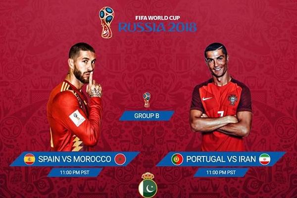 Tường thuật World Cup 2018: Tây Ban Nha vs Ma Rốc, 1h ngày 26/6