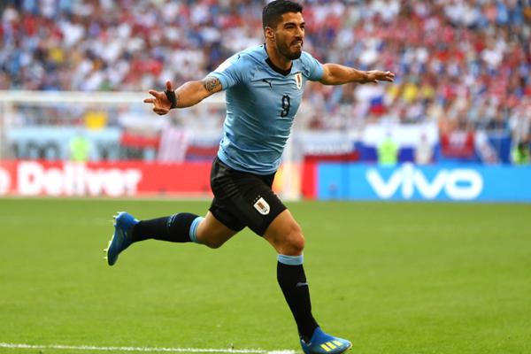 Kết quả bảng A World Cup 2018 lượt 3: Uruguay 3-0 Nga, Ai Cập 1-2 Saudi Arabia