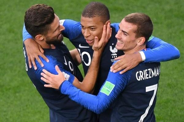 Trực tiếp World Cup hôm nay: Pháp vs Đan Mạch, 21h ngày 26/6
