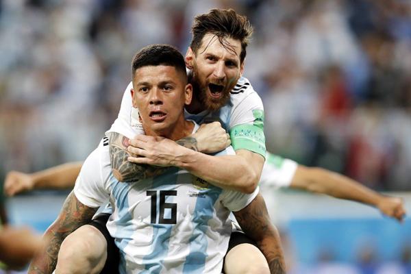 Kết quả bóng đá hôm nay (27/6): Argentina 2-1 Nigeria