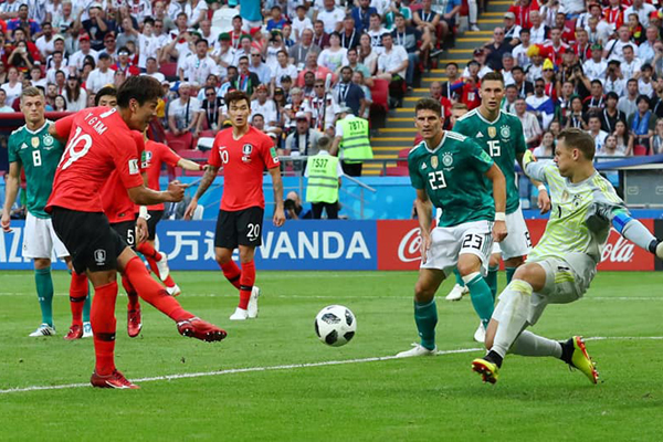 Đức xếp thứ mấy ở bảng F World Cup 2018?