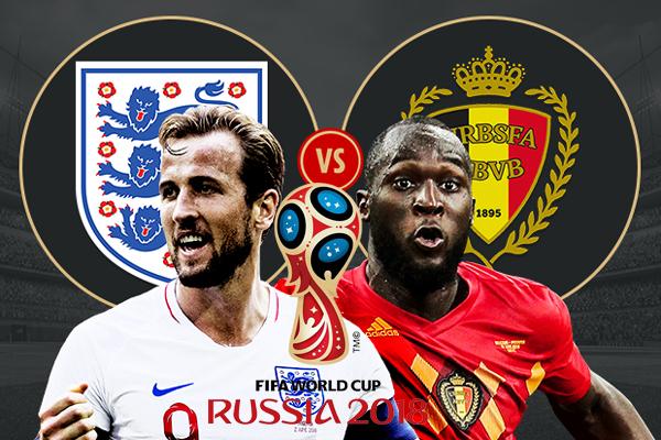 Lịch thi đấu bóng đá hôm nay (28/6): Anh vs Bỉ (bảng G World Cup 2018)
