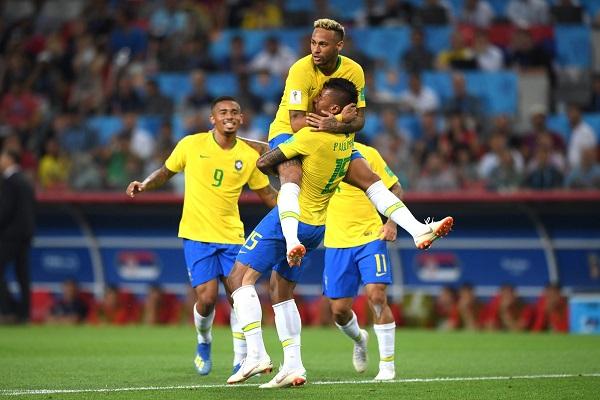 Kết quả World Cup 2018 hôm nay (28/6): Brazil 2-0 Serbia