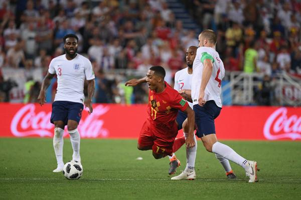 Bảng xếp hạng bảng G World Cup 2018: Anh mất ngôi đầu vào tay Bỉ