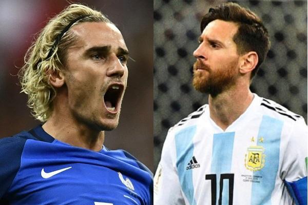 Đội hình ra sân Pháp vs Argentina: Griezmann so tài Messi