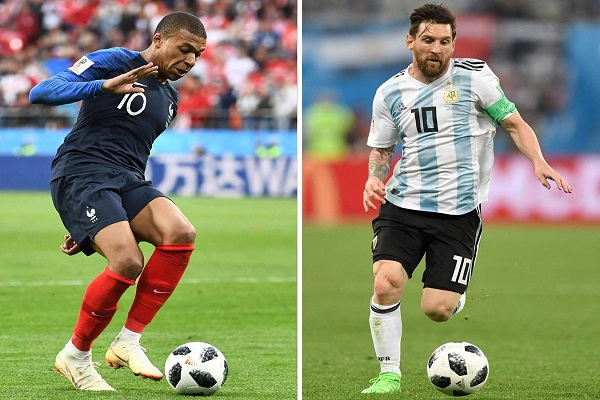 Nhận định vòng 1/8 World Cup 2018: Mở màn Pháp vs Argentina