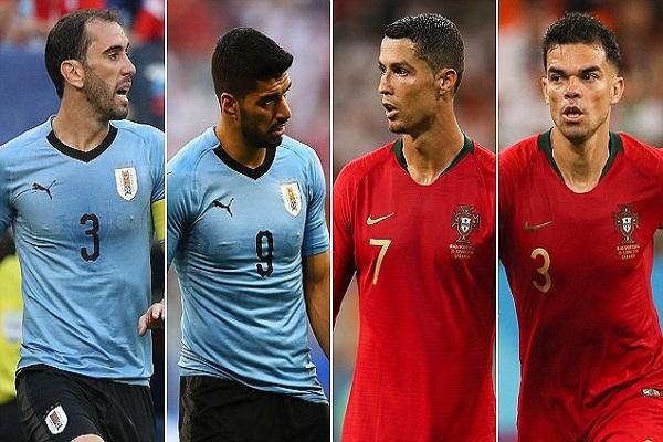 Xem lại Uruguay vs Bồ Đào Nha - Xem lại vòng 1/8 World Cup 2018
