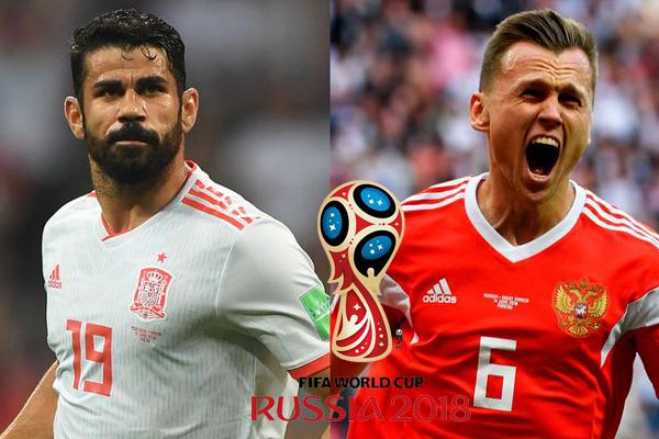 Lịch thi đấu World Cup hôm nay (1/7): Tây Ban Nha vs Nga