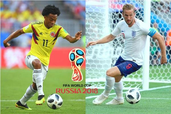 Lịch phát sóng World Cup hôm nay 3/7: Colombia vs Anh