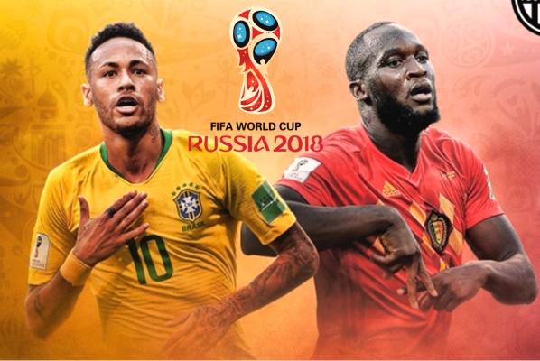 Lịch sử đối đầu Brazil vs Bỉ trước vòng tứ kết World Cup 2018