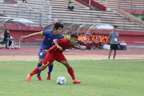 Kết quả U19 Việt Nam vs U19 Lào (4-1): Chân lý thuộc về kẻ mạnh