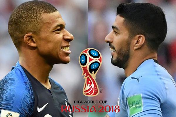 Lịch thi đấu bóng đá World Cup hôm nay (6/7): Pháp vs Uruguay